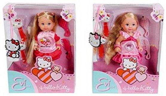 Evi Hello Kitty Cu Accesorii Pt Par