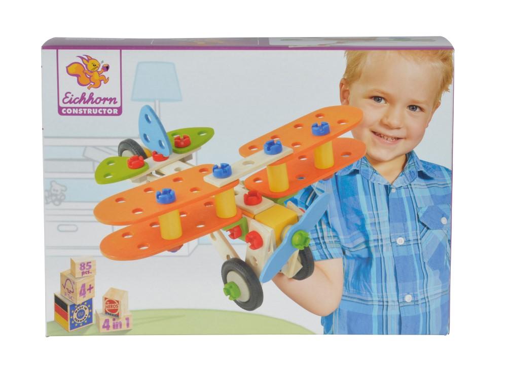 Eichhorn Set Avion Heros Constructor