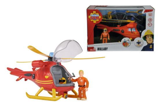 Fireman Sam Elicopter Figurina