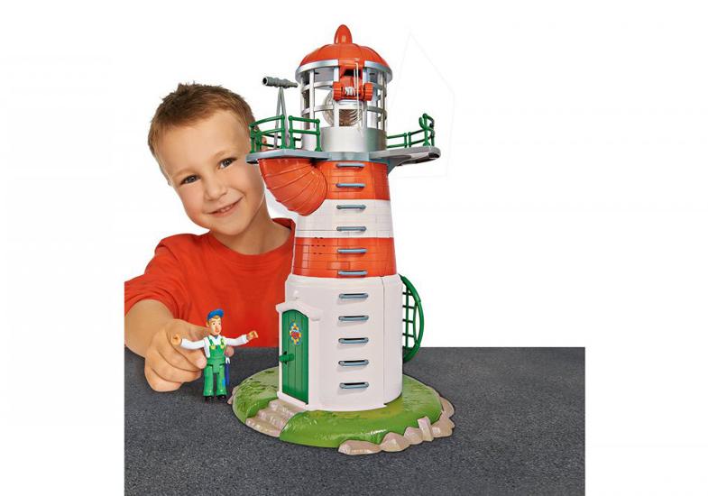 Sam Lighthouse With Figurine