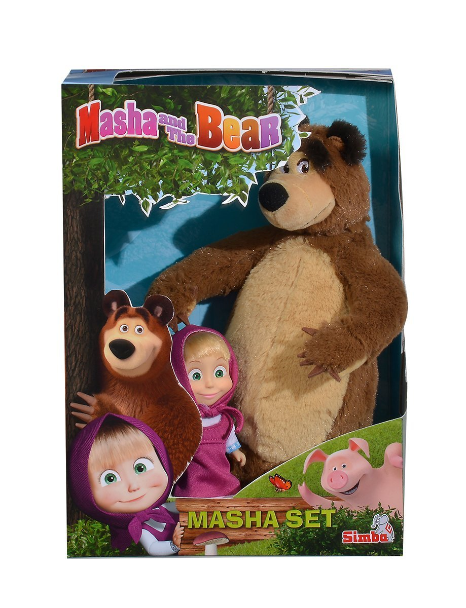 Set Masha Si Ursul 25cm