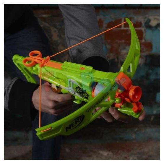 Blaster Arbaleta Zombie Outbreaker Bow