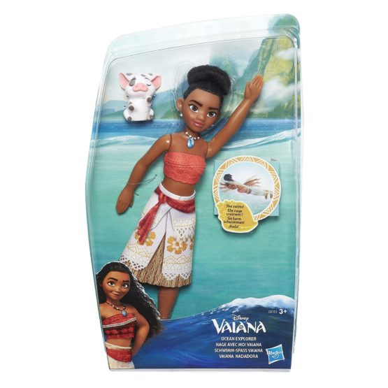 Dpr Vaiana Ocean Explorer Fashion Doll