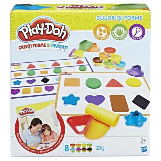 Set Play Doh Culori Si Forme Ro