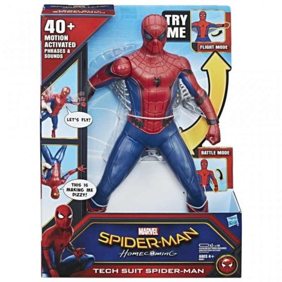 Spd Tech Suit Spider Man