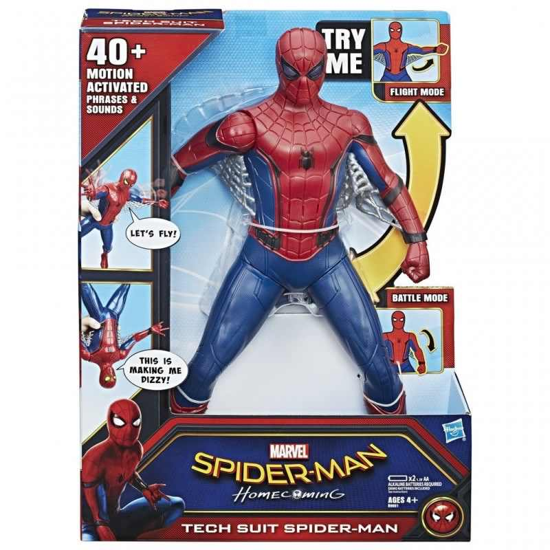 Spd Tech Suit Spider Man