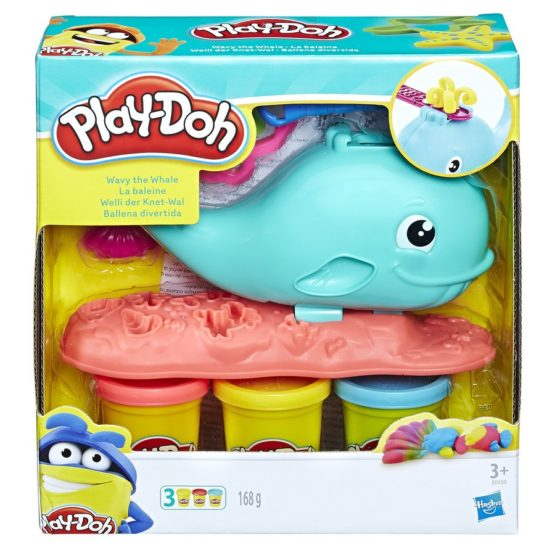 Play Doh Balena Albastra
