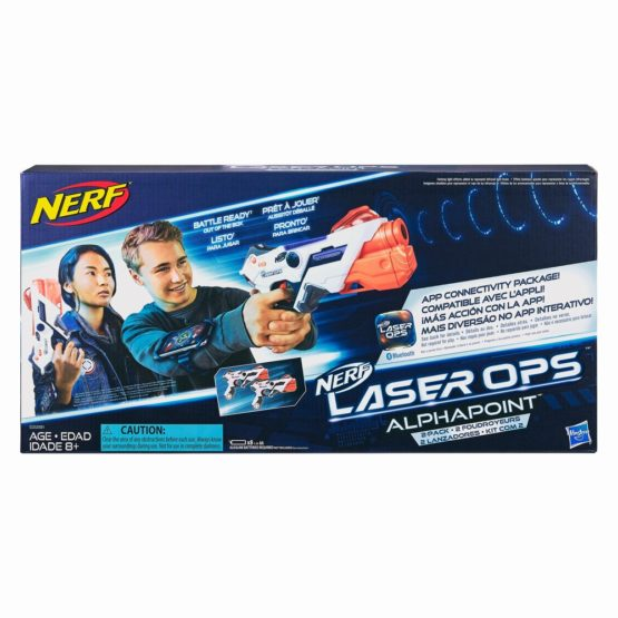 Nerf Set 2 Blastere Laser Ops Pro Alphapoint