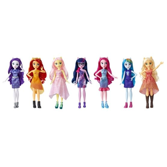 Papusile Equestria Girls Set Complet