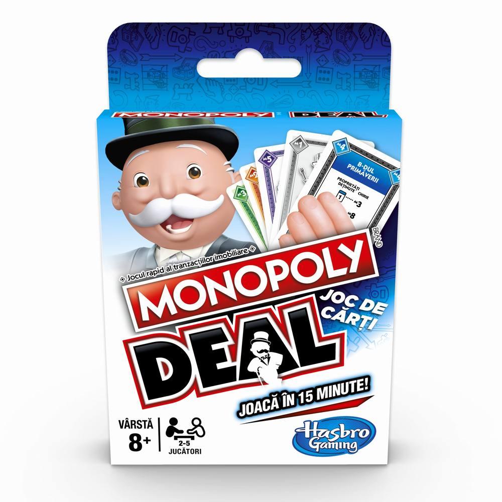 Monopoly Carti De Joc Deal Limba Romana