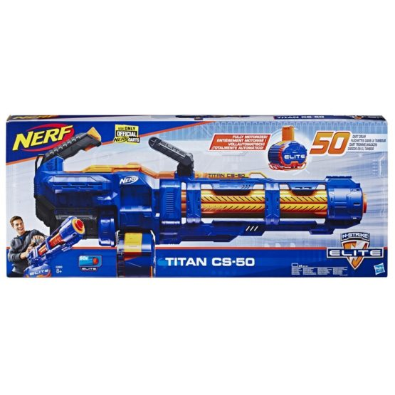 Nerf Blaster Elite Titan Cs 50