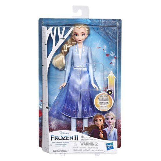 Papusa Frozen2 Elsa Cu Rochita Luminoasa