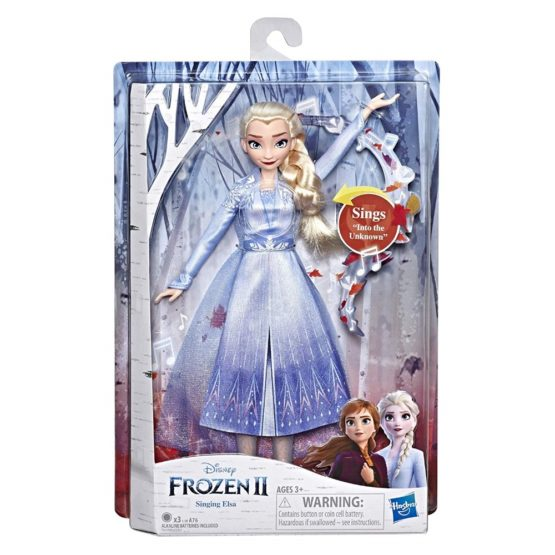 Papusa Frozen2 Singing Elsa Cu Lumini Si Sunete