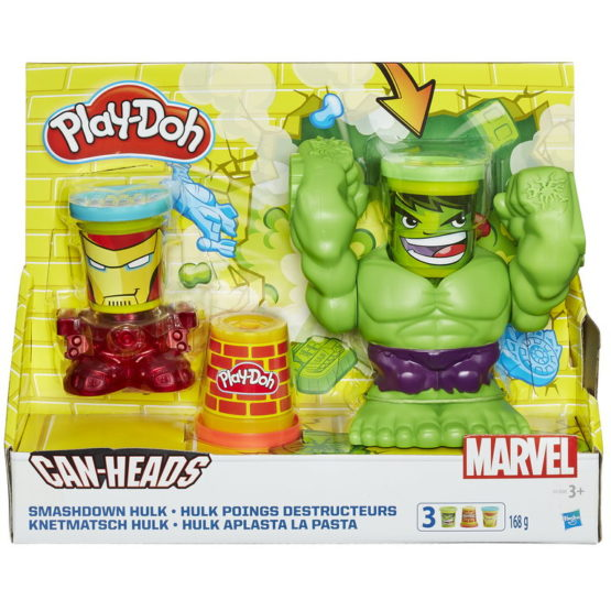 Set Play Doh Smashdown Hulk