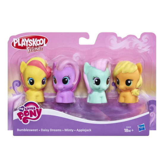 Pachet 4 Figurine My Little Pony Playskool Friends