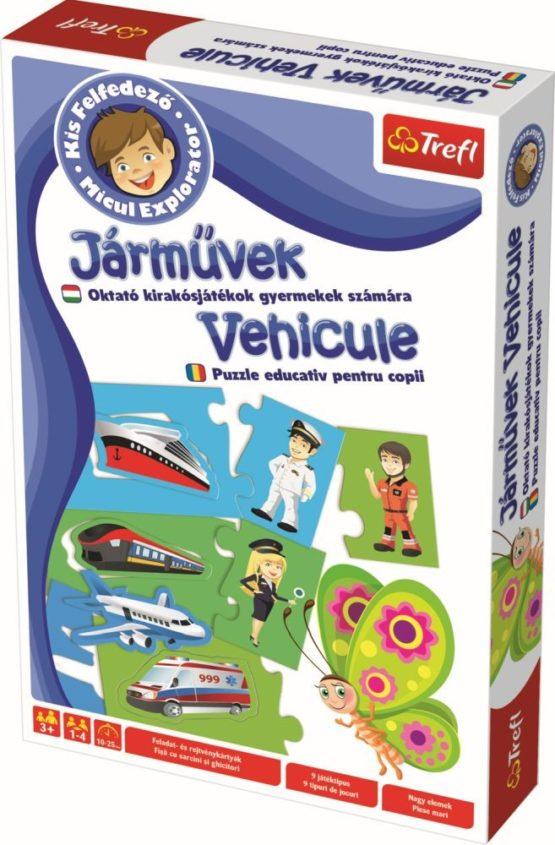 Invata Vehiculele Micul Explorator