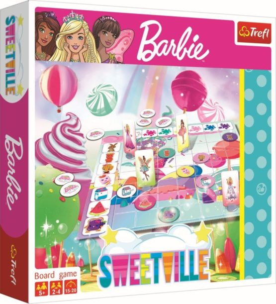 Jocul Barbie Orasul Dulciurilor