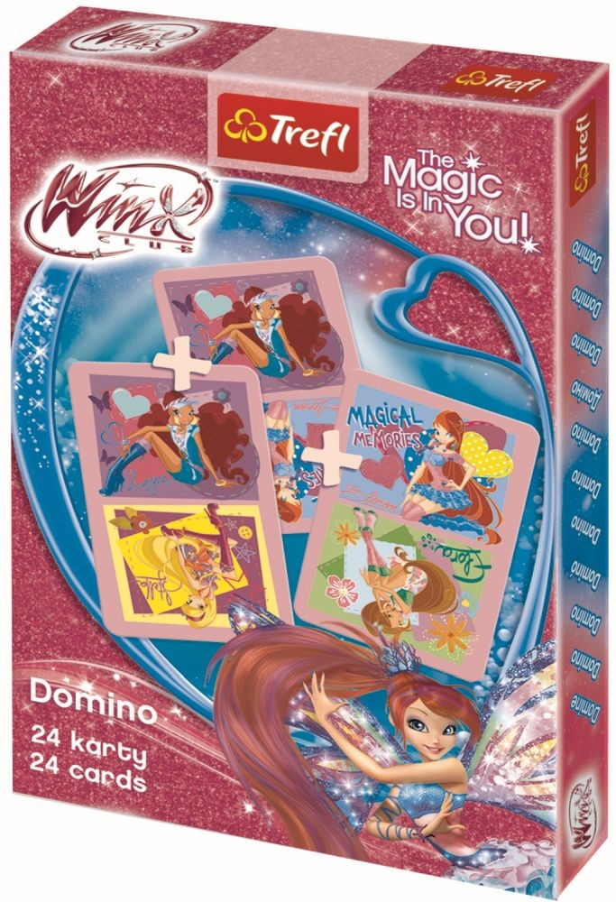 Carti De Joc Domino Winx