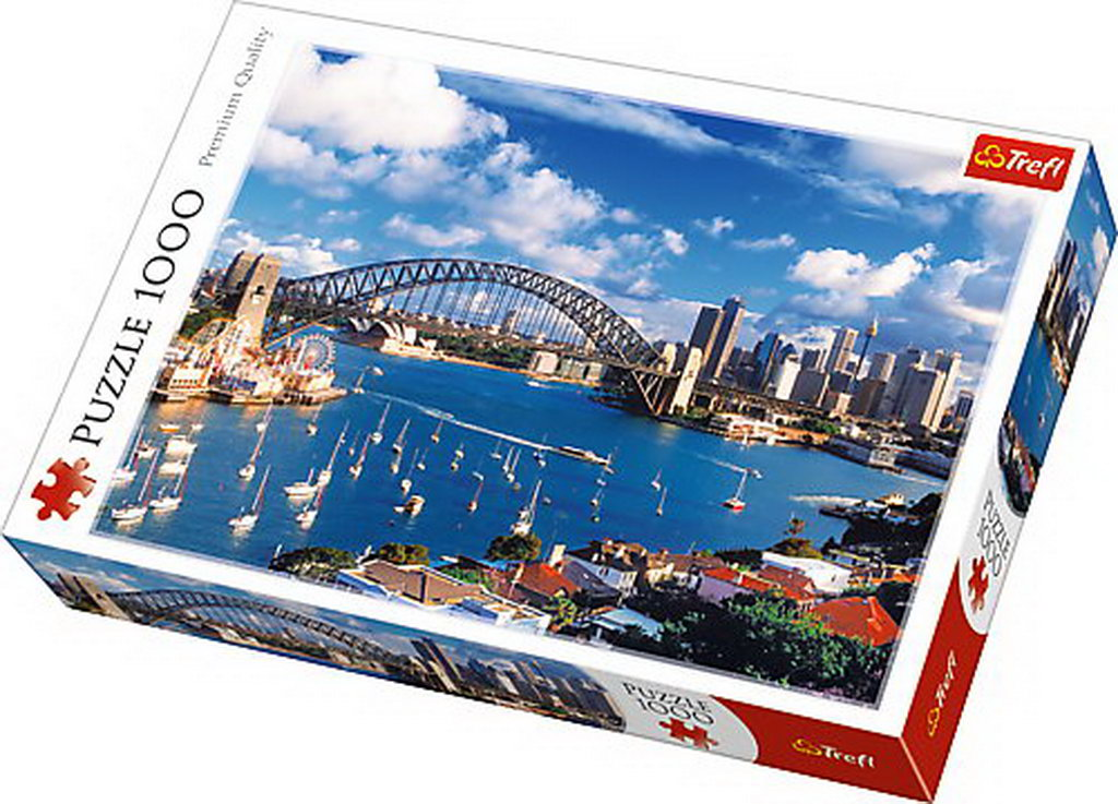 Puzzle Trefl 1000 Portul Jackson Sidney