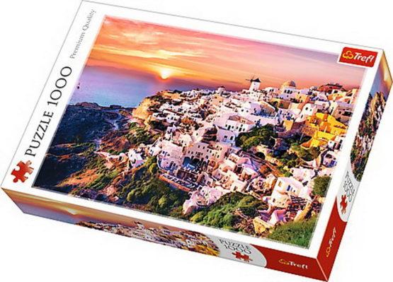 Puzzle Trefl 1000 Apus In Santorini