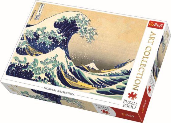 Puzzle Trefl 1000 Marele Val De La Kanagawa