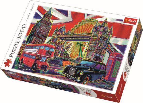 Puzzle Trefl 1000 Londra In Culori