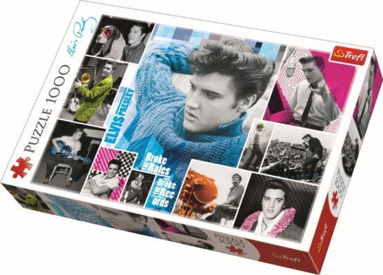 Puzzle Trefl 1000 Elvis Presley Intotdeauna Tanar
