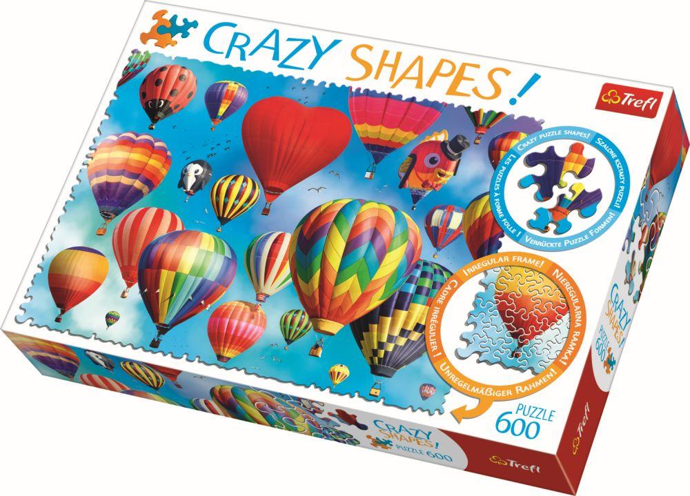Puzzle Trefl 600 Cu Piese Ciudate – Baloane Colorate