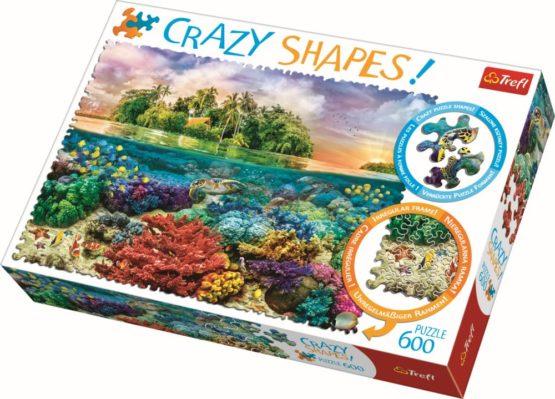 Puzzle Trefl 600 Cu Piese Ciudate – Insula Exotica