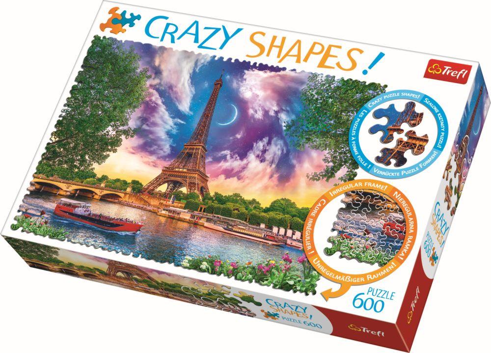 Puzzle Trefl 600 Cu Piese Ciudate – Cer De Poveste La Paris