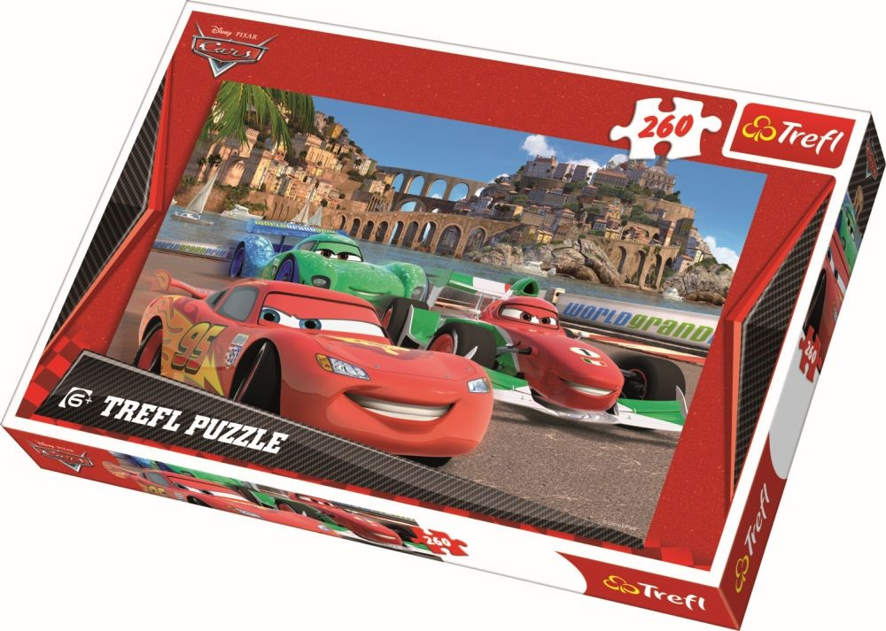 Puzzle Trefl 260 Mcqueen In Porto Corso
