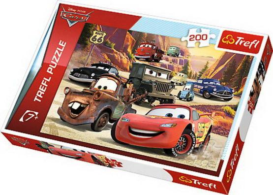 Puzzle Trefl 200 Calatorie In Munti Cars