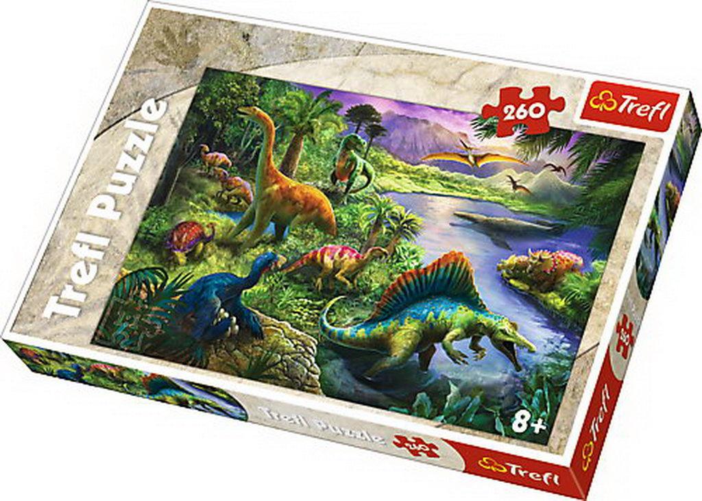 Puzzle Trefl 260 Dinozauri