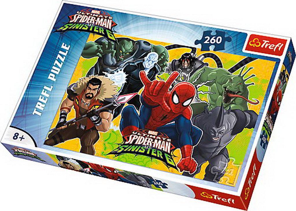 Puzzle Trefl 260 Spiderman In Actiune