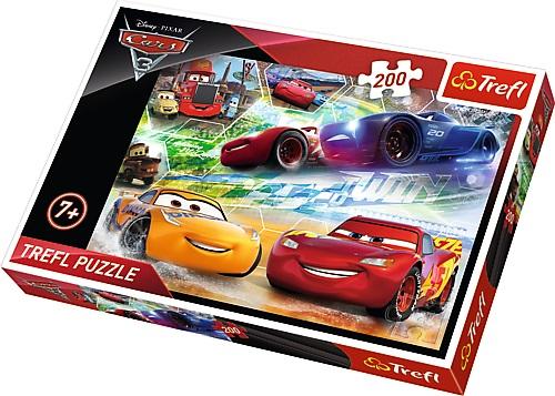 Puzzle Trefl 200 Pe Drumul Victoriei Cars3