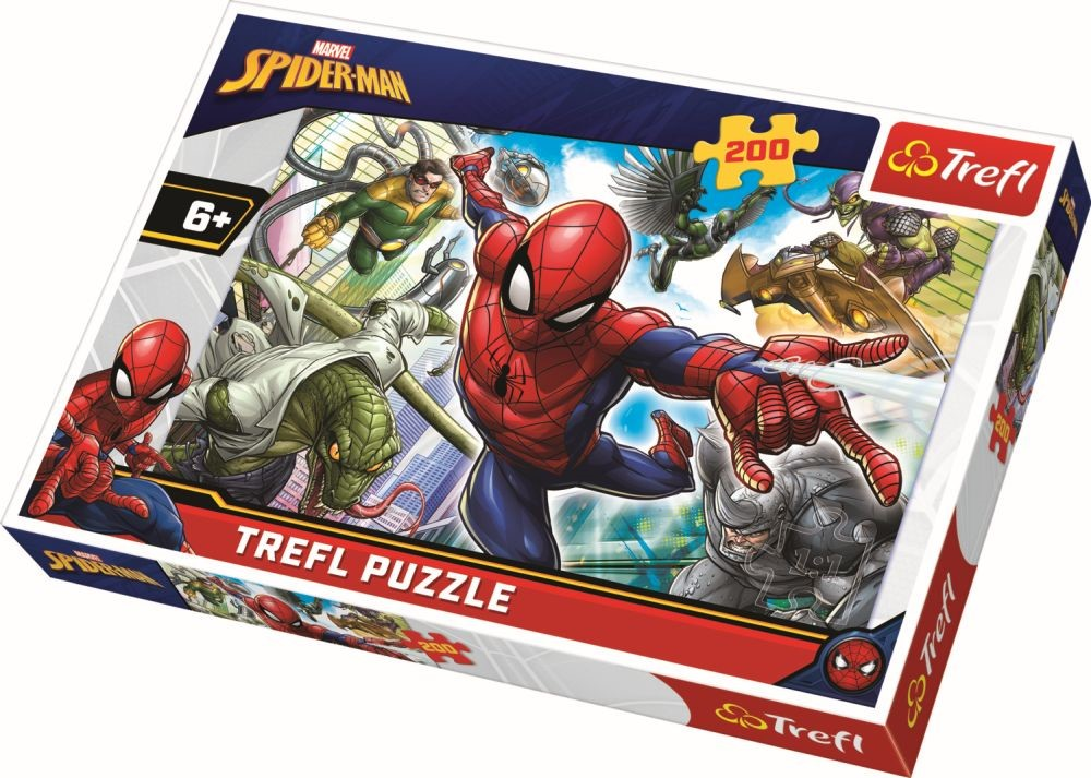 Puzzle Trefl 200 Nascut Supererou