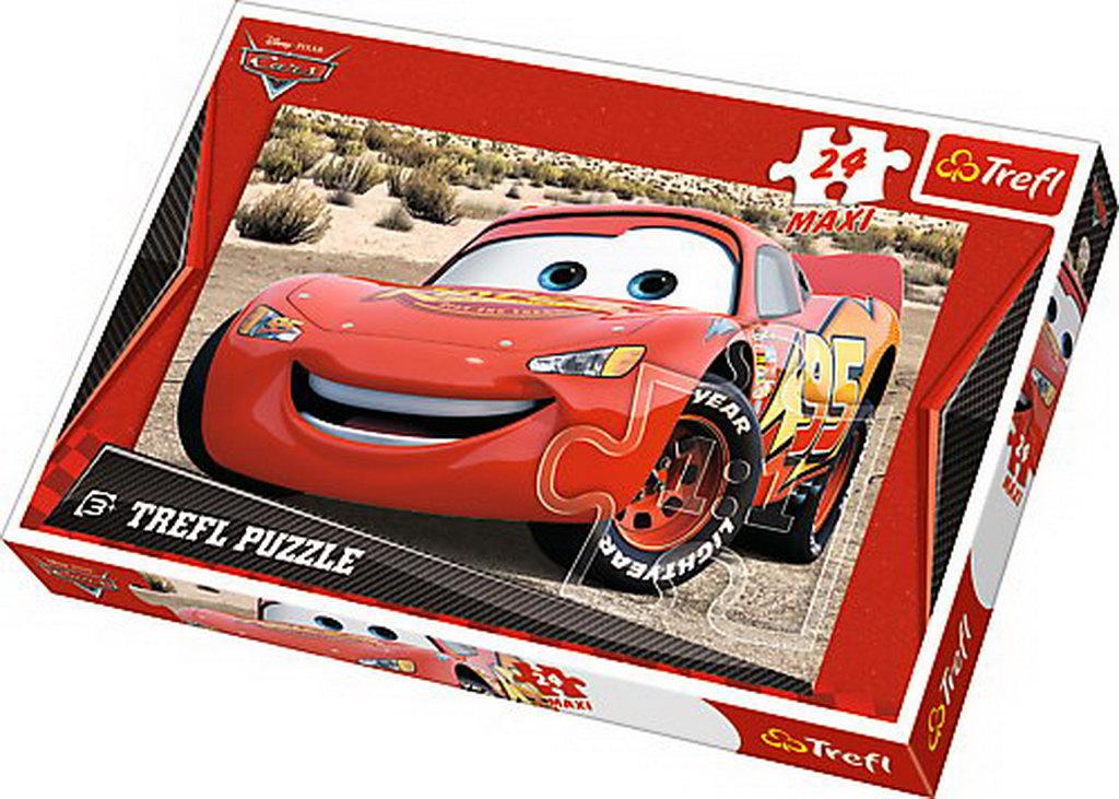 Puzzle Trefl 24 Maxi Fulger Mcqueen