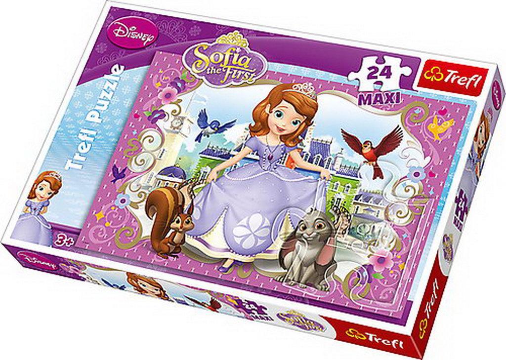 Puzzle Trefl 24 Maxi Prietenii Sofiei