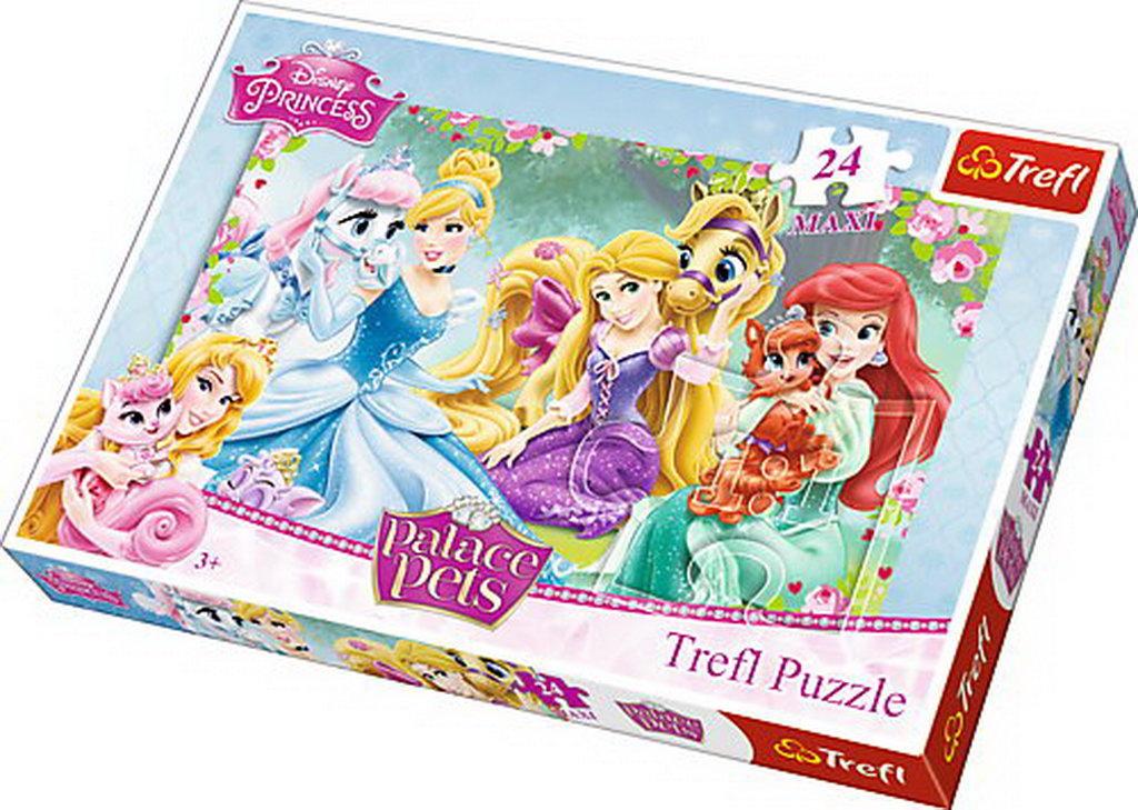 Puzzle Trefl 24 Maxi Relaxare In Curtea Palatului