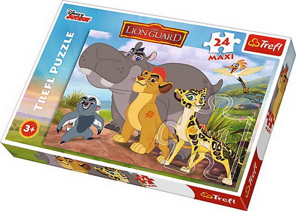 Puzzle Trefl 24 Maxi Curajoasa Garda Felina