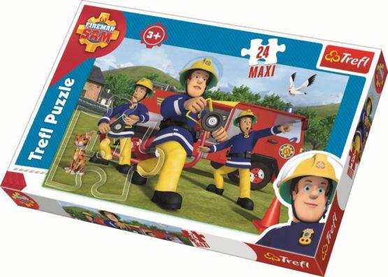 Puzzle Trefl 24 Maxi Pompierul Sam