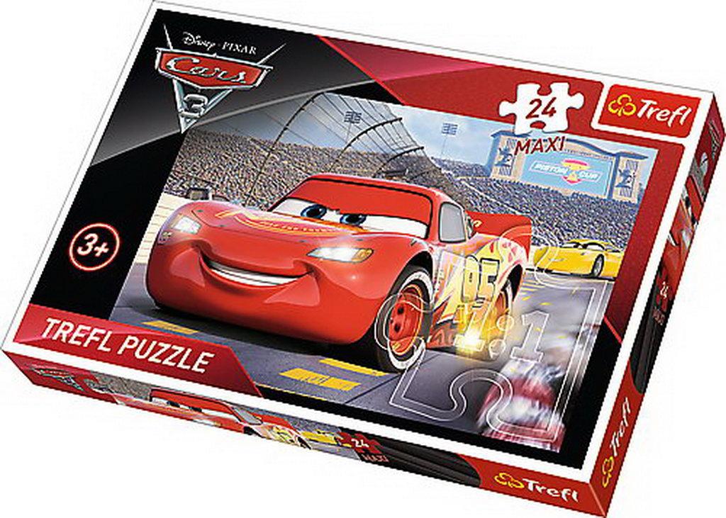 Puzzle Trefl 24 Maxi Campionul Mcqueen Cars3