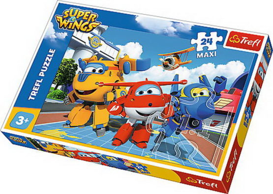 Puzzle Trefl 24 Maxi Avioane Fericite