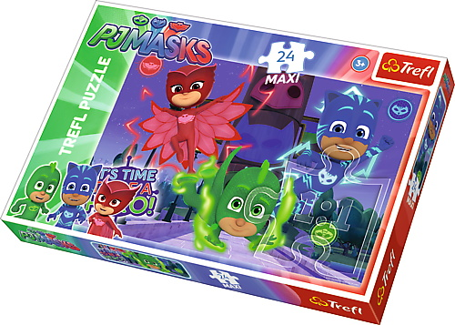 Puzzle Trefl 24 Maxi Eroi Misteriosi