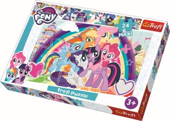 Puzzle Trefl 24 Maxi Ponei Fericiti
