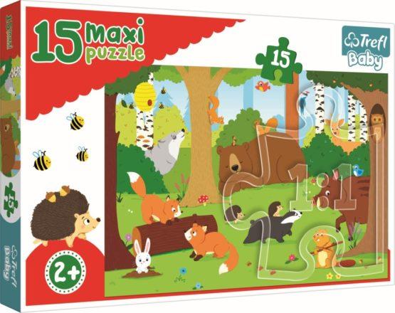 Puzzle Trefl 15 Maxi Animale Salbatice