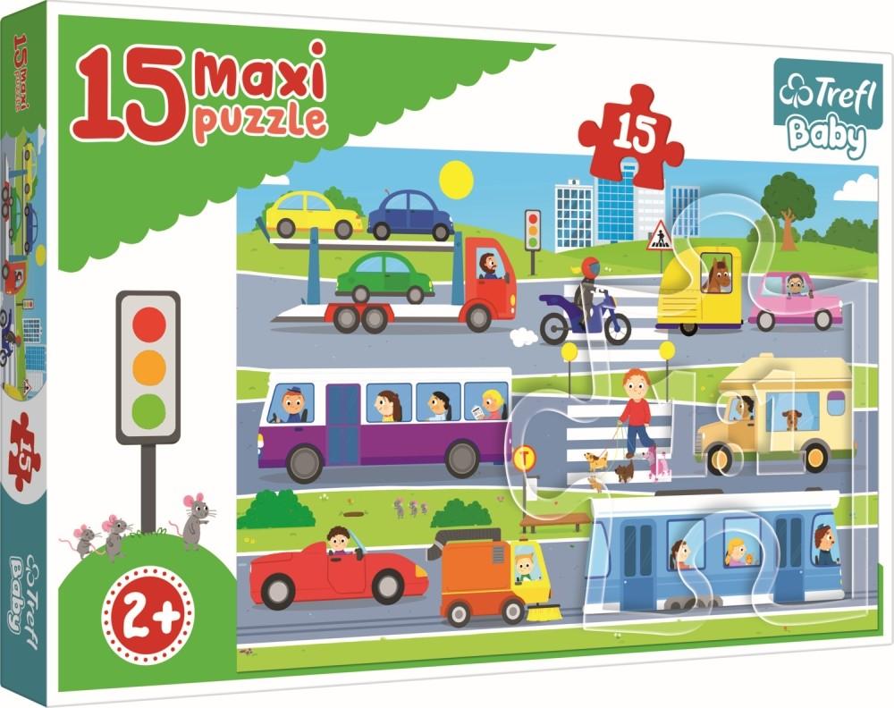 Puzzle Trefl 15 Maxi Vehicule In Oras