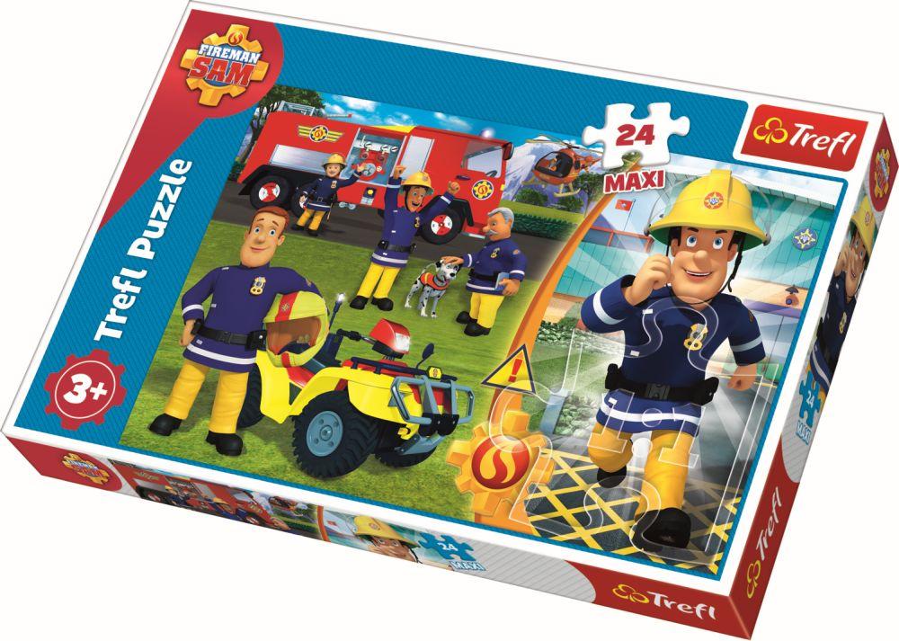 Puzzle Trefl 24 Maxi Bravul Pompier Sam