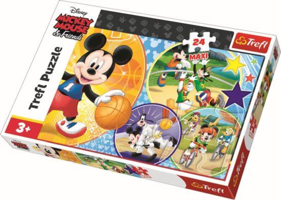 Puzzle Trefl 24 Maxi Este Timpul Pentru Sport