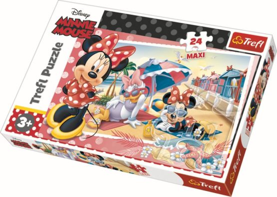 Puzzle Trefl 24 Maxi Minnie In Vacanta